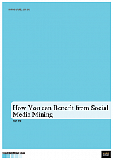 How you can Benefit from Social Media Mining