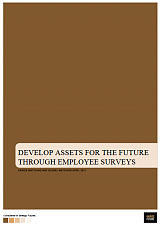 Develop Assets for the Future through Employee Surveys