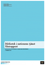 En nationell biblioteksstrategi